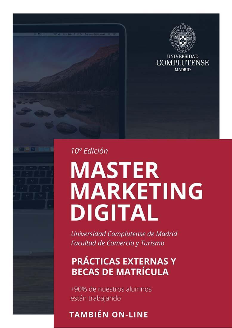 Master Marketing digital Universidad Complutense