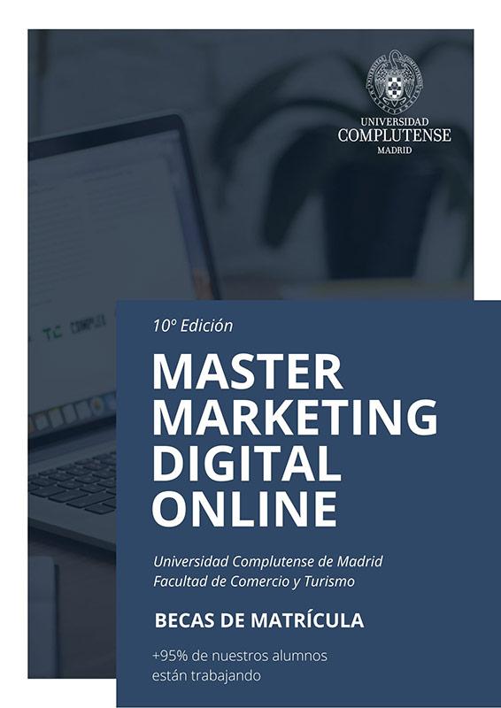 master marketing digital online UCM